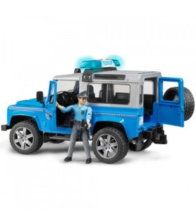 Land Rover Defender Station Wagon Cu Ofiter De Politie Si Echipamente