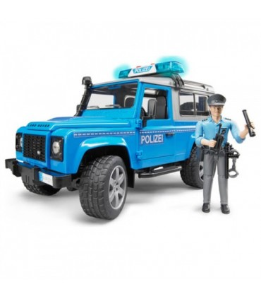 Land Rover Defender & Figurina Politist