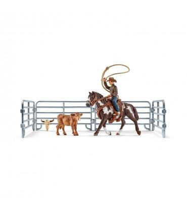 Cowboy Cu Lasou Prinzand Vitelul