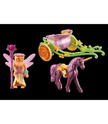 Trasura Cu Unicorn Si Zane