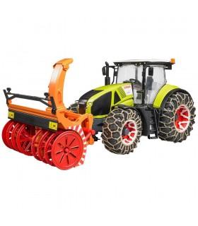 Tractor Claas Axion 950 & Accesorii Deszapezire