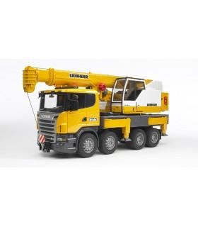 Camion Scania cu Macara Liebherr