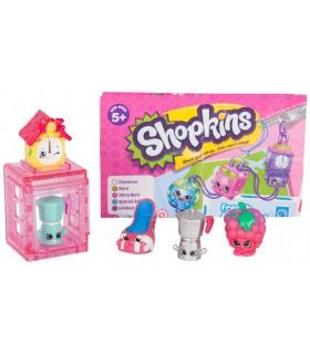 Set 5 Figurine & Casuta, Pink