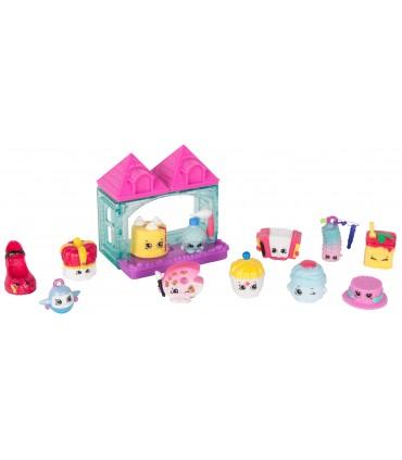 Set 12 Figurine & Casuta, Pink