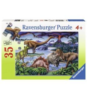 Locul De Joaca Al Dinozaurilor, 35 Piese