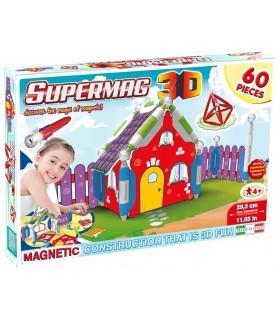 Supermag 3D Casuta, 60 Piese
