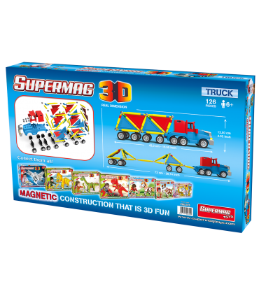 Supermag 3D, Camion