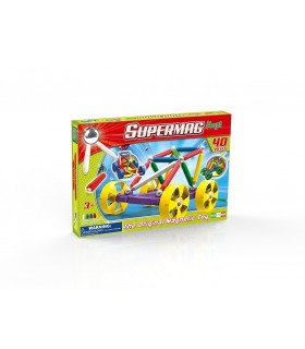 Supermag Maxi Wheels, 40 Piese