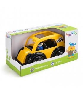 Masina Taxi cu 2 Figurine, Jumbo