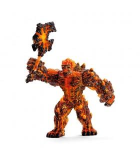 Monstru de Lava cu Arma