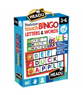 Montessori Joc Bingo Atingeti Imagini Si Cuvinte