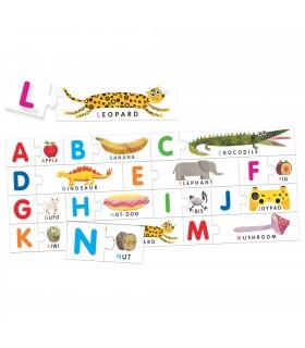 Joc Tactil Montessori ABC
