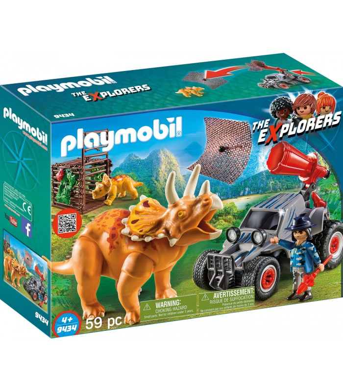Automobil si Triceratops