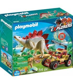 Masina De Teren si Stegosaurus