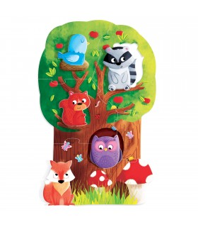 Montessori Primul Meu Puzzle - Padurea