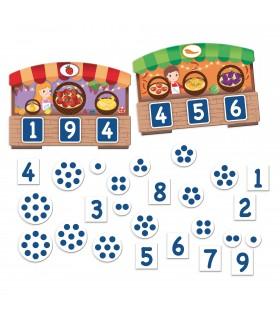 Montessori Joc 123 Bingo