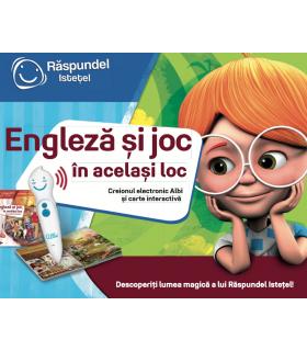 Raspundel Istetel, Pachet Engleza Si Joc, In Acelasi Loc