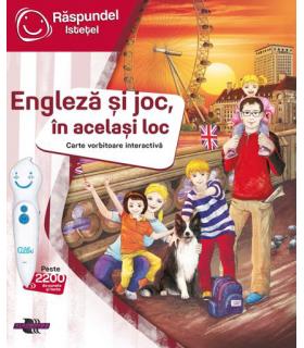 Raspundel Istetel, Carte Engleza Si Joc, In Acelasi Loc
