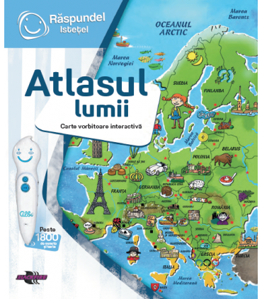 Raspundel Istetel, Carte Atlasul Lumii