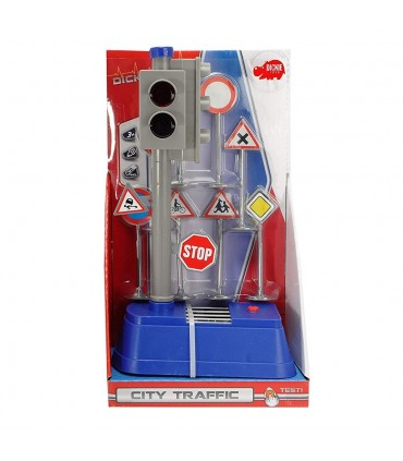 Set Semafor City Traffic Cu Semne Rutiere