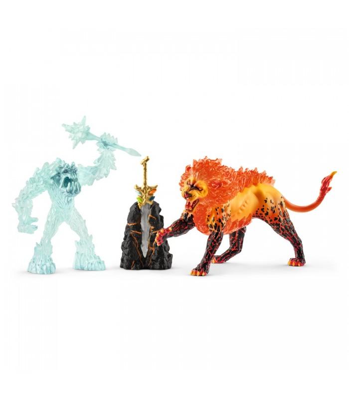 Monstrul De Gheata vs. Leul De Foc