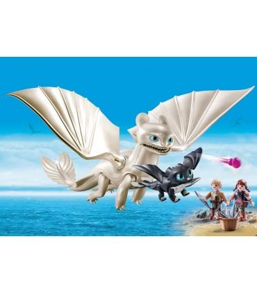 Light Fury, Pui de Dragon si Copii
