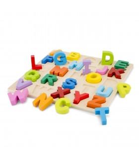 Puzzle Alfabet, Litere Mari